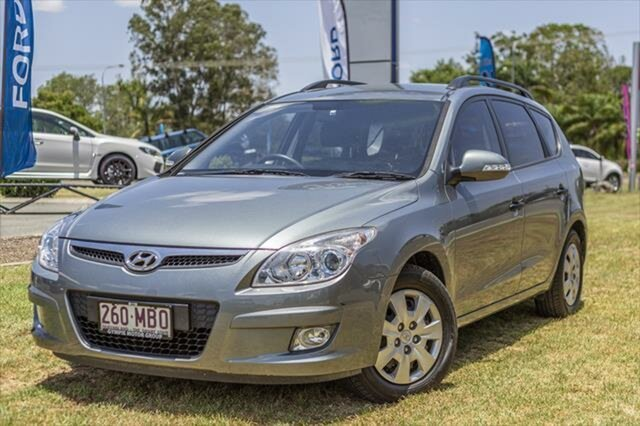 Used Hyundai i30 FD MY10 Sportswagon cw Wagon, 2010 Hyundai i30 FD MY10 Sportswagon cw Wagon Grey 4 Speed Automatic Wagon