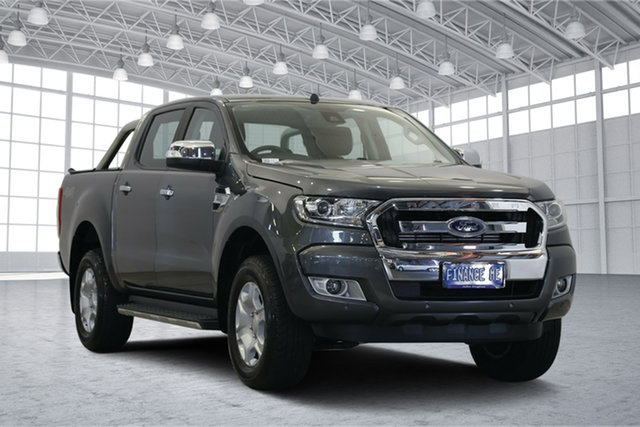 Used Ford Ranger PX MkII 2018.00MY XLT Double Cab, 2018 Ford Ranger PX MkII 2018.00MY XLT Double Cab Magnetic 6 Speed Sports Automatic Utility
