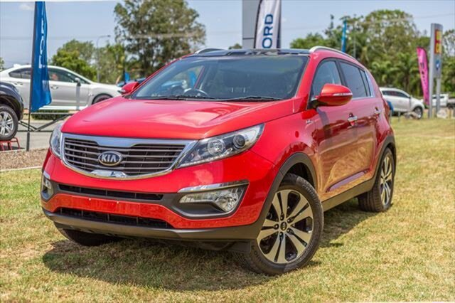 Used Kia Sportage SL MY13 Platinum, 2012 Kia Sportage SL MY13 Platinum Red 6 Speed Sports Automatic Wagon