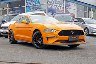 2018 Ford Mustang FN 2019MY GT Fastback SelectShift RWD Orange 10 Speed Sports Automatic Fastback.