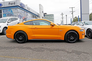 2018 Ford Mustang FN 2019MY GT Fastback SelectShift RWD Orange 10 Speed Sports Automatic Fastback