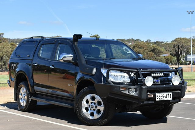 Used Holden Colorado RG MY13 LTZ Crew Cab, 2012 Holden Colorado RG MY13 LTZ Crew Cab Black 6 Speed Sports Automatic Utility