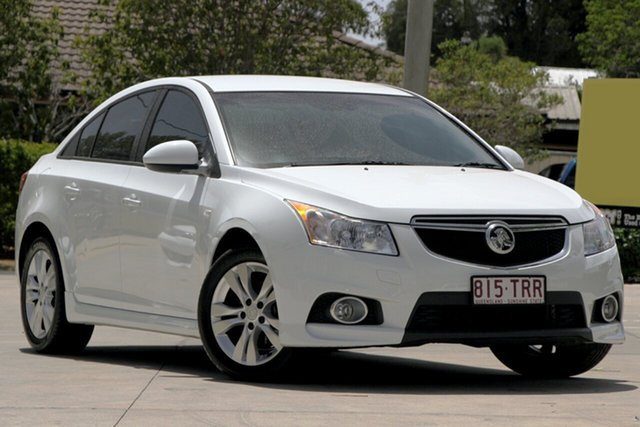 Used Holden Cruze JH Series II MY14 SRi, 2013 Holden Cruze JH Series II MY14 SRi White 6 Speed Sports Automatic Sedan
