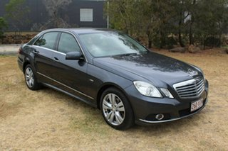 2010 Mercedes-Benz E-Class W212 E220 CDI BlueEFFICIENCY Elegance Grey 5 Speed Sports Automatic Sedan.