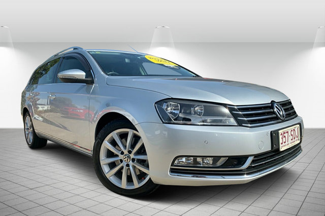 Used Volkswagen Passat Type 3C MY11 125TDI DSG Highline, 2011 Volkswagen Passat Type 3C MY11 125TDI DSG Highline Silver 6 Speed Sports Automatic Dual Clutch