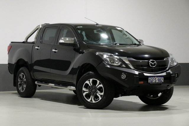 Used Mazda BT-50 MY16 GT (4x4), 2016 Mazda BT-50 MY16 GT (4x4) Black 6 Speed Automatic Dual Cab Utility