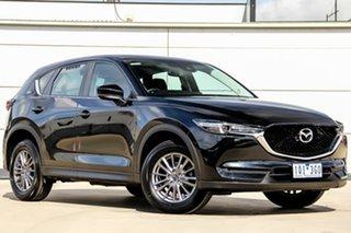 2017 Mazda CX-5 KF2W7A Maxx SKYACTIV-Drive FWD Sport Jet Black 6 Speed Sports Automatic Wagon.
