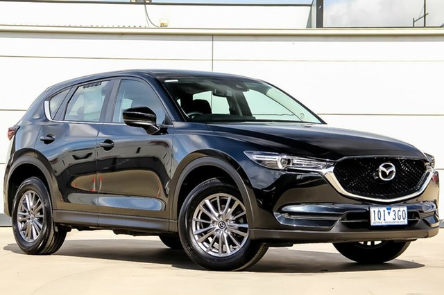 Used Mazda CX-5 KF2W7A Maxx SKYACTIV-Drive FWD Sport, 2017 Mazda CX-5 KF2W7A Maxx SKYACTIV-Drive FWD Sport Jet Black 6 Speed Sports Automatic Wagon