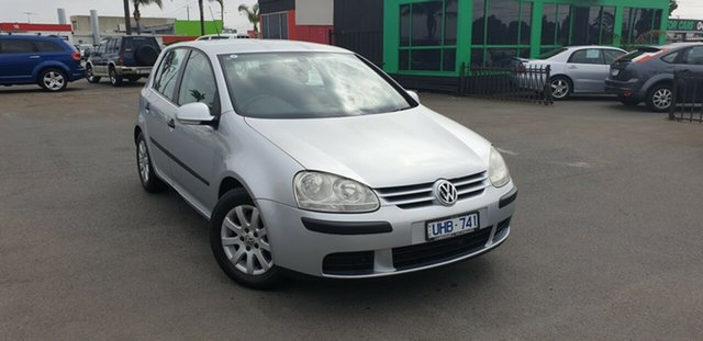 Used Volkswagen Golf V MY07 Comfortline Tiptronic, 2006 Volkswagen Golf V MY07 Comfortline Tiptronic Silver 6 Speed Sports Automatic Hatchback
