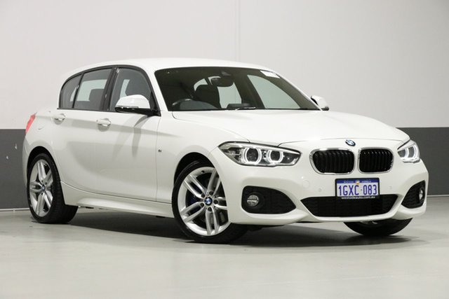 Used BMW 125i F20 LCI Sport Line, 2016 BMW 125i F20 LCI Sport Line White 8 Speed Automatic Hatchback