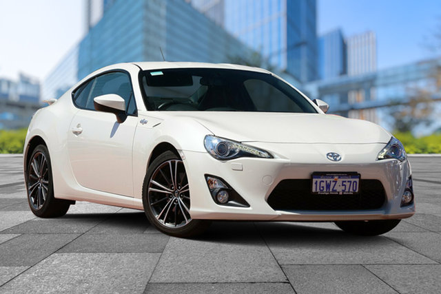 Used Toyota 86 ZN6 GTS, 2013 Toyota 86 ZN6 GTS White 6 Speed Manual Coupe