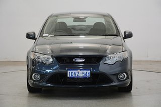 2011 Ford Falcon FG XR6 Turbo Silver 6 Speed Manual Sedan.