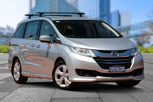 Used Honda Odyssey RC MY17 VTi, 2017 Honda Odyssey RC MY17 VTi Silver 7 Speed Constant Variable Wagon