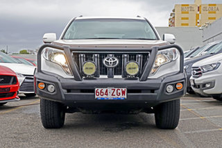 2015 Toyota Landcruiser Prado GDJ150R GXL White 6 Speed Sports Automatic Wagon.