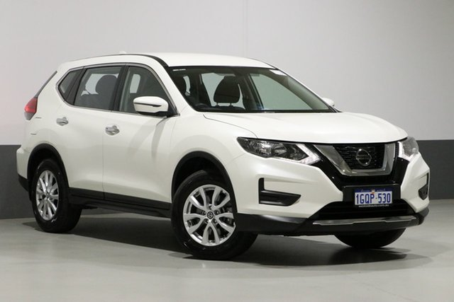 Used Nissan X-Trail T32 Series 2 ST 7 Seat (2WD), 2018 Nissan X-Trail T32 Series 2 ST 7 Seat (2WD) Pearl White Continuous Variable Wagon