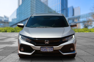 2019 Honda Civic 10th Gen MY19 RS Lunar Silver 1 Speed Constant Variable Hatchback