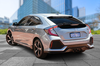 2019 Honda Civic 10th Gen MY19 RS Lunar Silver 1 Speed Constant Variable Hatchback.