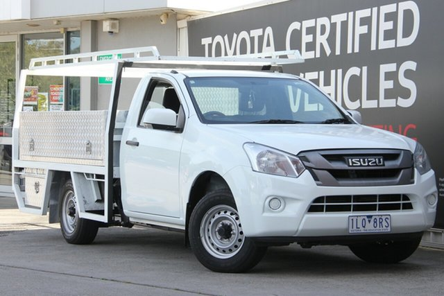 Used Isuzu D-MAX MY18 SX 4x2, 2018 Isuzu D-MAX MY18 SX 4x2 6 Speed Manual Cab Chassis