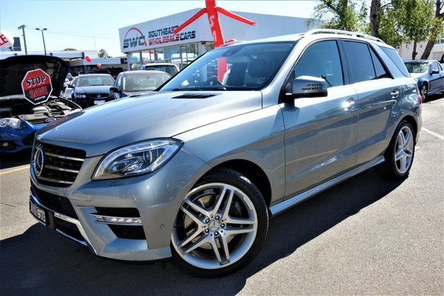 Used Mercedes-Benz M-Class W166 ML500 7G-Tronic +, 2013 Mercedes-Benz M-Class W166 ML500 7G-Tronic + Silver 7 Speed Sports Automatic Wagon