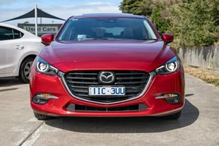 2016 Mazda 3 BN5438 SP25 SKYACTIV-Drive Astina Red 6 Speed Sports Automatic Hatchback