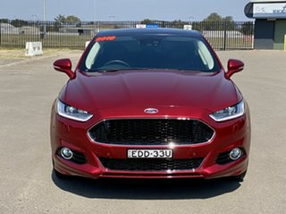 2016 Ford Mondeo MD Titanium SelectShift Red 6 Speed Sports Automatic Hatchback.