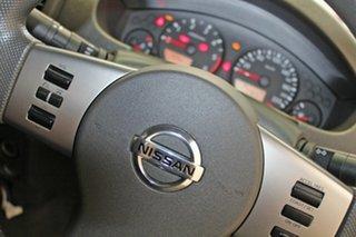 2015 Nissan Navara D40 MY13 RX (4x4) Silver 6 Speed Manual Dual Cab Chassis
