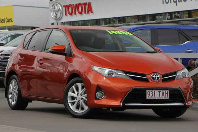 Used Toyota Corolla ZRE182R Ascent Sport S-CVT, 2013 Toyota Corolla ZRE182R Ascent Sport S-CVT Inferno 7 Speed Constant Variable Hatchback