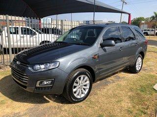 2014 Ford Territory SZ MK2 TX (4x4) Grey 6 Speed Automatic Wagon.