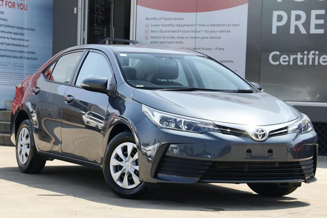 Used Toyota Corolla ZRE172R Ascent S-CVT, 2018 Toyota Corolla ZRE172R Ascent S-CVT Moonlight 7 Speed Constant Variable Sedan