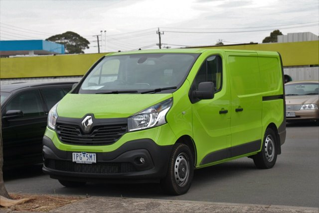 Used Renault Trafic X82 103KW Low Roof SWB, 2019 Renault Trafic X82 103KW Low Roof SWB Bamboo Green 6 Speed Manual Van