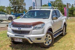 2013 Holden Colorado RG MY13 LTZ Crew Cab White 6 Speed Sports Automatic Utility.