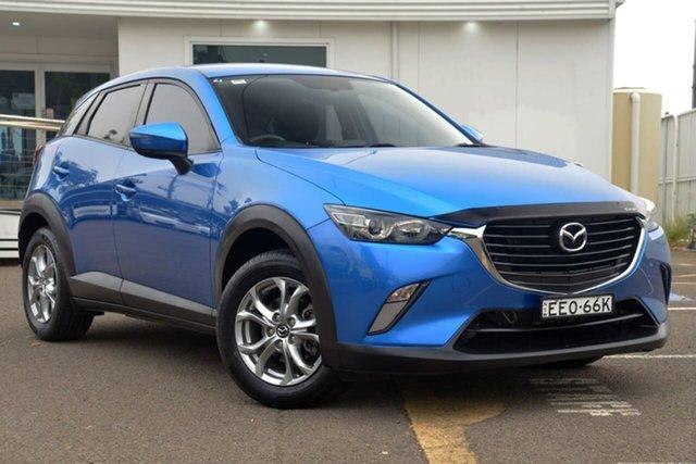 Used Mazda CX-3 DK2WSA Maxx SKYACTIV-Drive, 2015 Mazda CX-3 DK2WSA Maxx SKYACTIV-Drive Blue 6 Speed Sports Automatic Wagon
