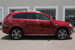 2017 Holden Captiva CG MY18 LTZ AWD Red 6 Speed Sports Automatic Wagon