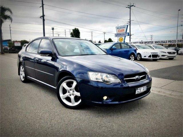 Used Subaru Liberty B4 Luxury, 2004 Subaru Liberty B4 Luxury Blue Sports Automatic Sedan
