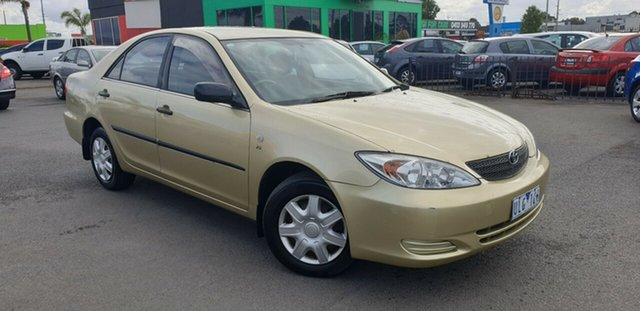 Used Toyota Camry MCV36R Altise, 2002 Toyota Camry MCV36R Altise Gold 4 Speed Automatic Sedan