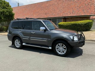 2013 Mitsubishi Pajero NW Exceed Grey 5 Speed Automatic Wagon.