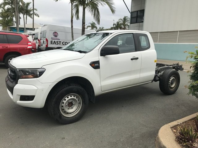 Used Ford Ranger PX MkII XL Super Cab 4x2 Hi-Rider, 2015 Ford Ranger PX MkII XL Super Cab 4x2 Hi-Rider White 6 speed Automatic Cab Chassis