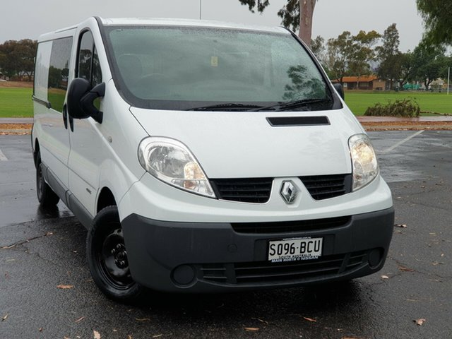 Used Renault Trafic X83 Phase 3 Low Roof LWB, 2014 Renault Trafic X83 Phase 3 Low Roof LWB White 6 Speed Manual Van
