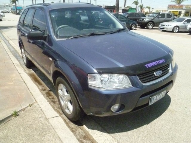 Used Ford Territory SY TS, 2008 Ford Territory SY TS Blue 4 Speed Sports Automatic Wagon
