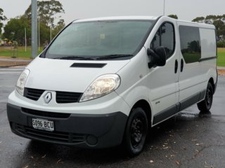 2014 Renault Trafic X83 Phase 3 Low Roof LWB White 6 Speed Manual Van.