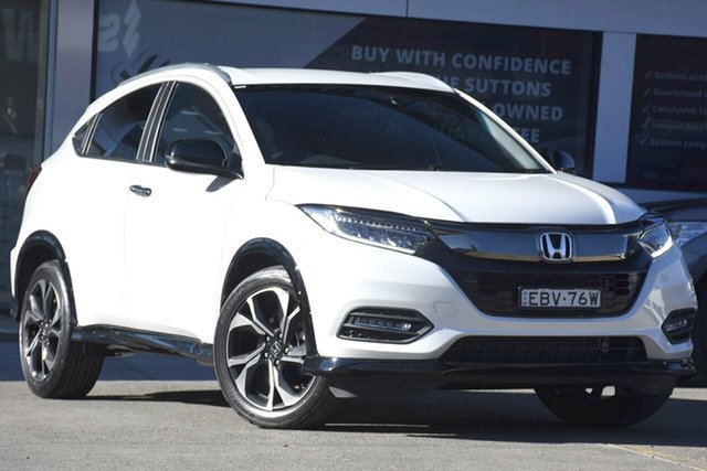 Used Honda HR-V MY18 RS, 2018 Honda HR-V MY18 RS White Orchid Continuous Variable Wagon