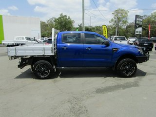 2012 Ford Ranger PX XL 3.2 (4x4) Blue 6 Speed Manual Dual Cab Chassis