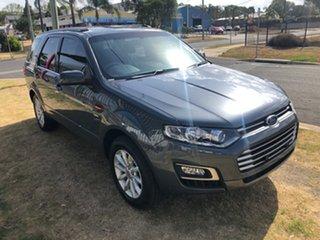 2014 Ford Territory SZ MK2 TX (4x4) Grey 6 Speed Automatic Wagon