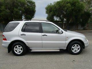 2000 Mercedes-Benz ML320 Luxury (4x4) 5 Speed Auto Tipshift Wagon.