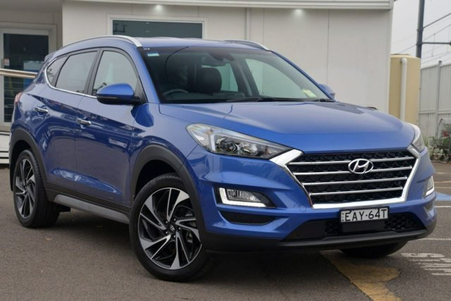 Used Hyundai Tucson TLE3 MY19 Special Edition D-CT AWD, 2018 Hyundai Tucson TLE3 MY19 Special Edition D-CT AWD Blue 7 Speed Sports Automatic Dual Clutch
