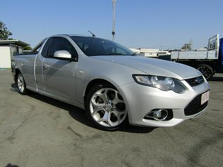 2012 Ford Falcon FG MK2 XR6T Silver 6 Speed Manual Utility.