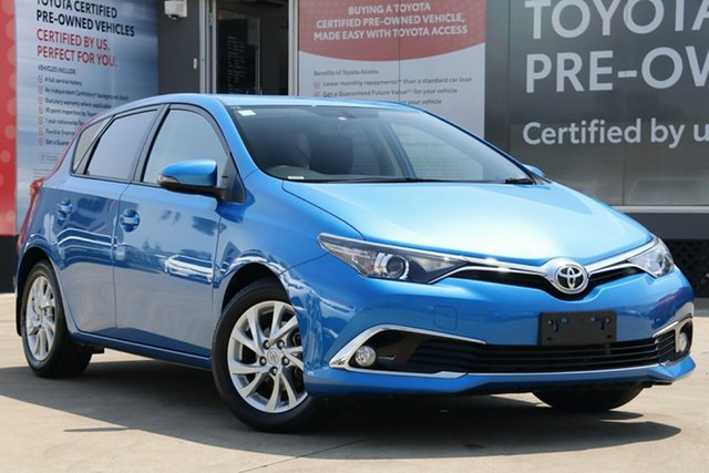 Used Toyota Corolla ZRE182R MY17 Ascent Sport, 2018 Toyota Corolla ZRE182R MY17 Ascent Sport Blue Gem 7 Speed CVT Auto Sequential Hatchback