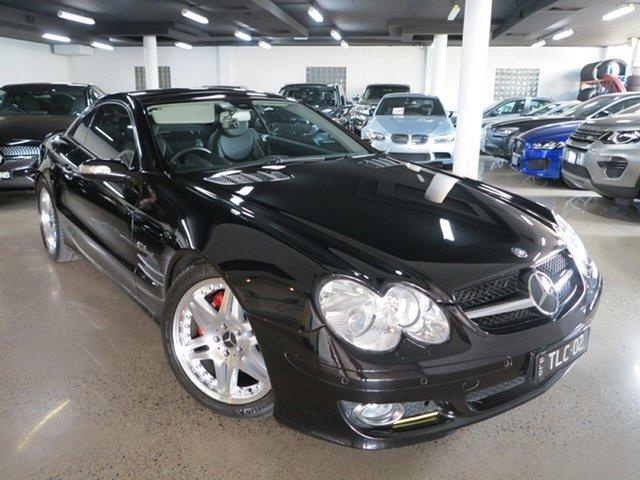 Used Mercedes-Benz SL-Class R230 MY06 SL350, 2006 Mercedes-Benz SL-Class R230 MY06 SL350 Black 7 Speed Automatic Roadster