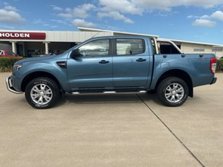 2014 Ford Ranger PX XL Double Cab Blue 6 Speed Sports Automatic Cab Chassis