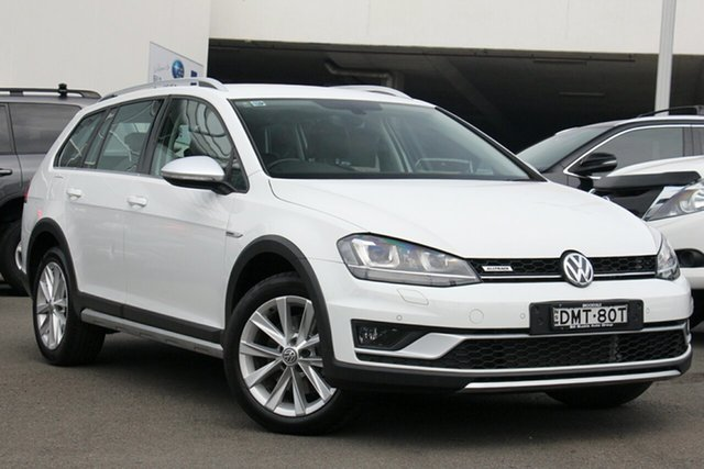 Used Volkswagen Golf VII MY17 Alltrack DSG 4MOTION 132TSI, 2016 Volkswagen Golf VII MY17 Alltrack DSG 4MOTION 132TSI White 6 Speed Sports Automatic Dual Clutch